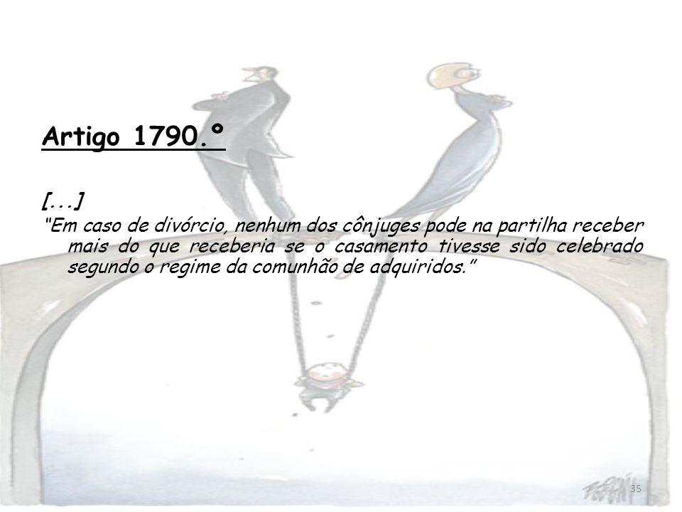 Artigo 1790.º [...]